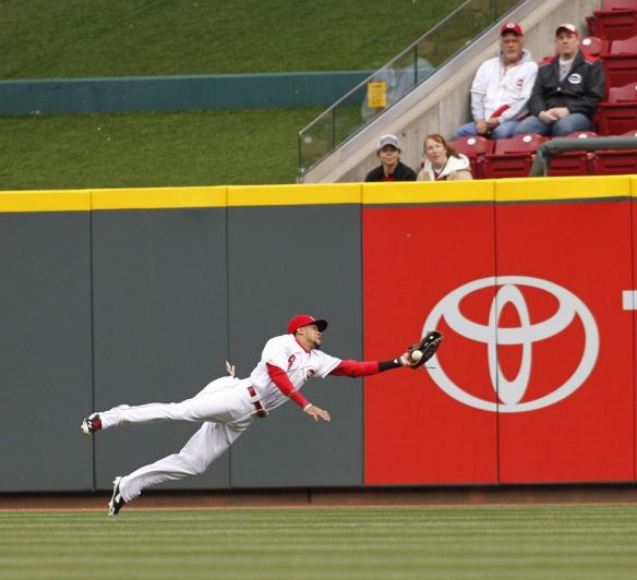 Billy Hamilton of the Cincinnati Reds