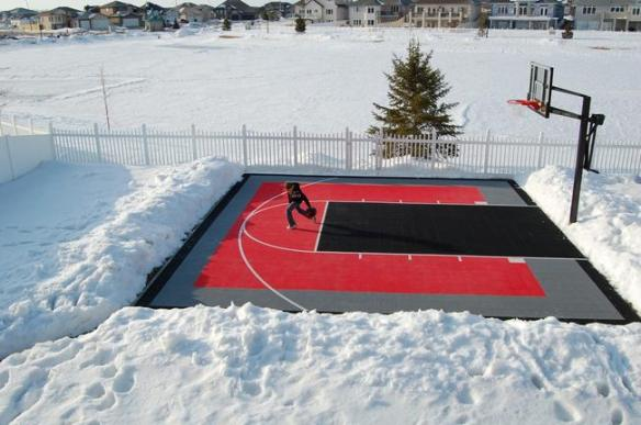 bball winter court
