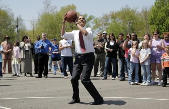 President Obama playground