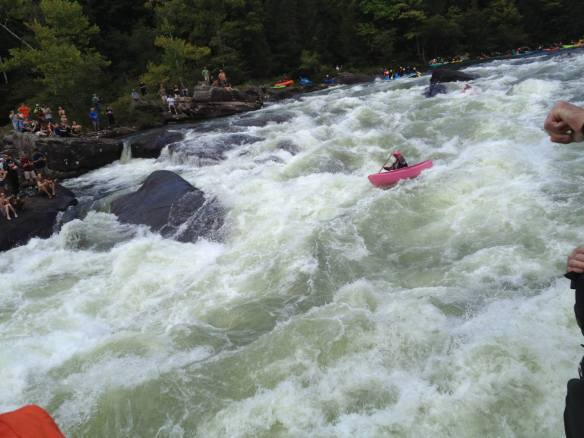 Gauley_pink dory at pillow rapid